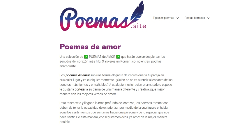 Poemas Site Amor Open Collective